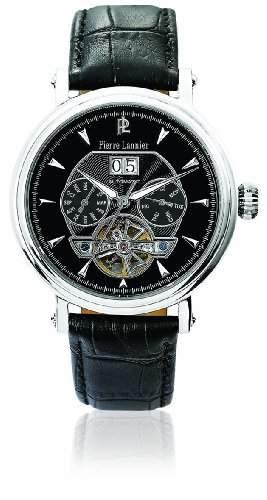 Pierre Lannier Herren-Armbanduhr Analog Automatik Leder 301C133