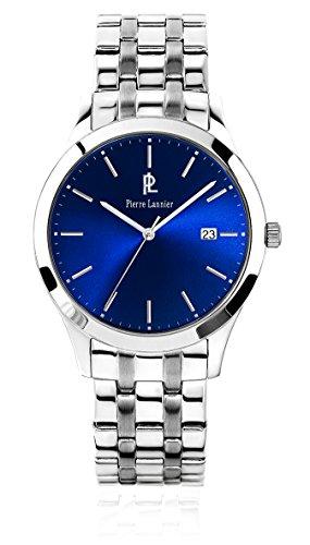 Pierre Lannier 248 C161 Elegance Classic Zeigt 10510262 Analog Stahl Silber