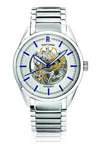 Pierre Lannier Herren Armbanduhr Analog Automatik Silber 311B121