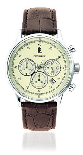 Pierre Lannier Chronograph Quarz Leder 224G194