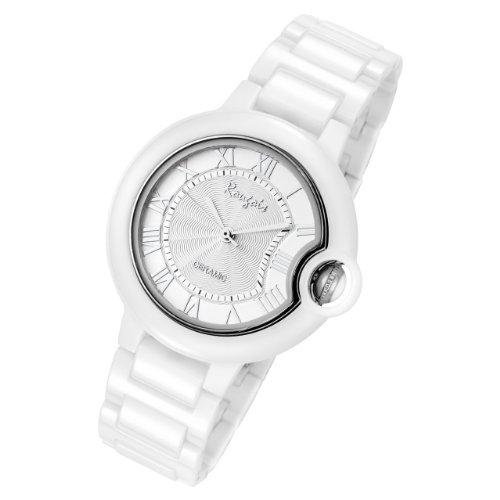 Rougois Cloud Ceramic Silver Stratus Watch Medium Size