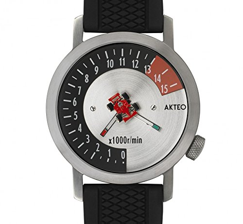 Akteo Armbanduhr Formel 1 silber 42 mm