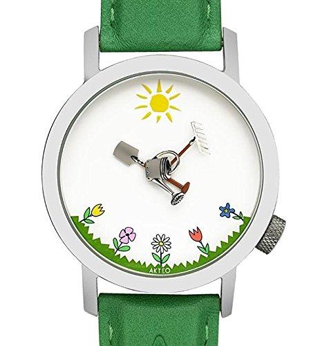 Akteo Armbanduhr Garten 42 mm