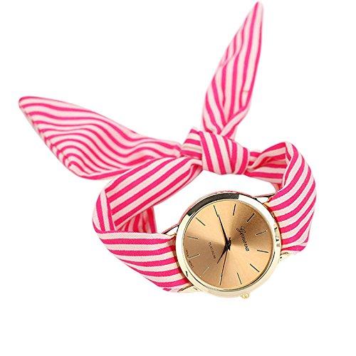 SoulSisters Armbanduhr Minimalist in Pink