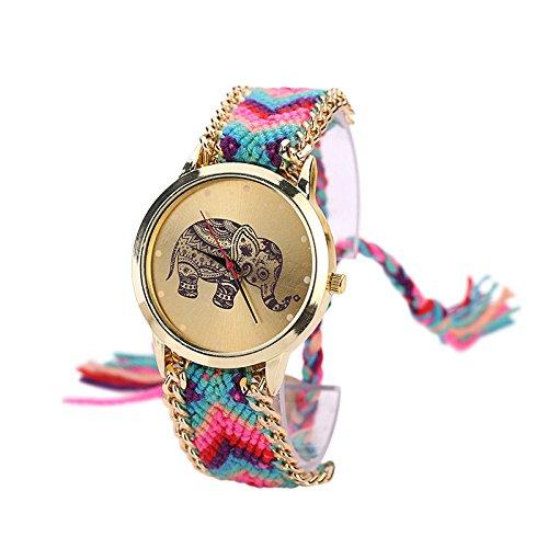 SoulSisters Armbanduhr Olifant Boho Fashion