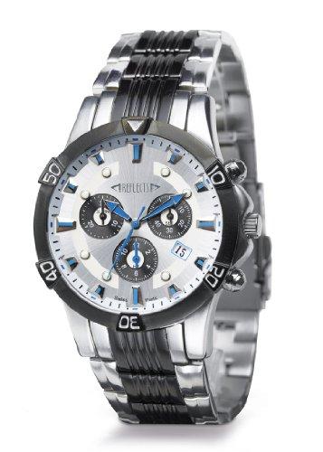 REFLECTS Armbanduhr mit Edelstahlgehaeuse CHRONO wasserdicht