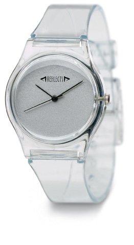 REFLECTS Durchsichtige Armbanduhr sehr edel TREND Transparent