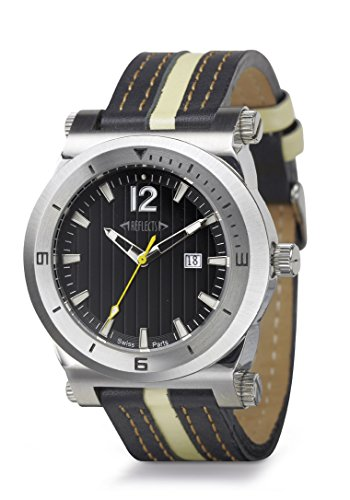 REFLECTS wasserdichte Armbanduhr mit Leucht Index sehr elegant TREND