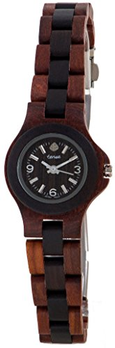 Gespannter zweifarbig rund Mini Nordwest Armband Armbanduhr l4300sd w Damen