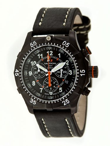 H3 Tactical Herren Armbanduhr Commander Chronograph H3 322271 11