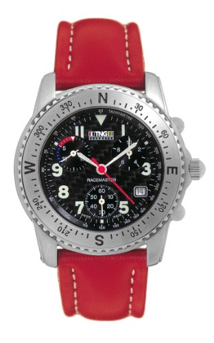 TNG Damen Armbanduhr Analog Leder Rot TG471 S 03 03 03