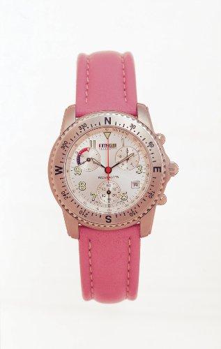 TNG Damen Armbanduhr Analog Leder Rosa TG471 S 06 03 07