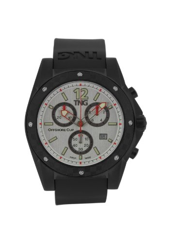 TNG Herren Armbanduhr Analog Plastik Schwarz TG618 30571 13PV
