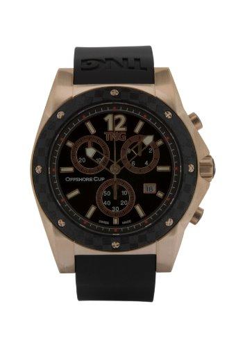 TNG Herren Armbanduhr Analog Plastik Schwarz TG618 30571 15PV