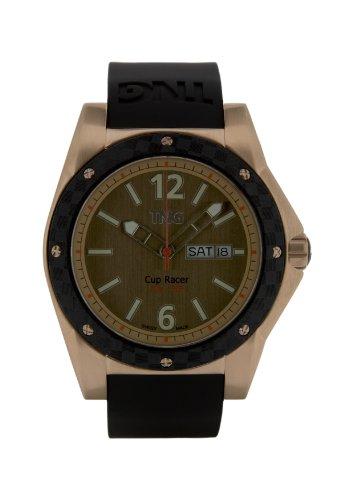 TNG Herren Armbanduhr Analog Plastik Schwarz TG667 30571 15PV