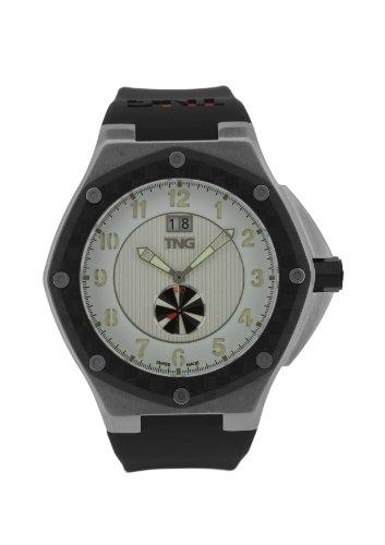 TNG Herren Armbanduhr Analog Plastik Schwarz TG686 30570 11PV