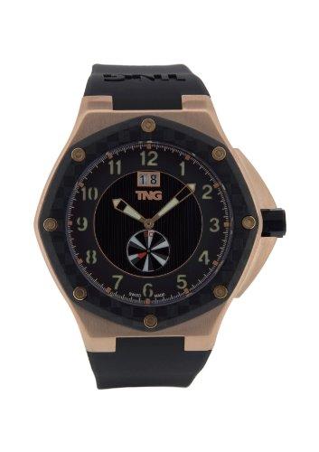 TNG Herren Armbanduhr Analog Plastik Schwarz TG686 30570 15PV