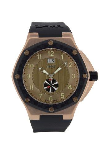TNG Herren Armbanduhr Analog Plastik Schwarz TG686 30570 16PV