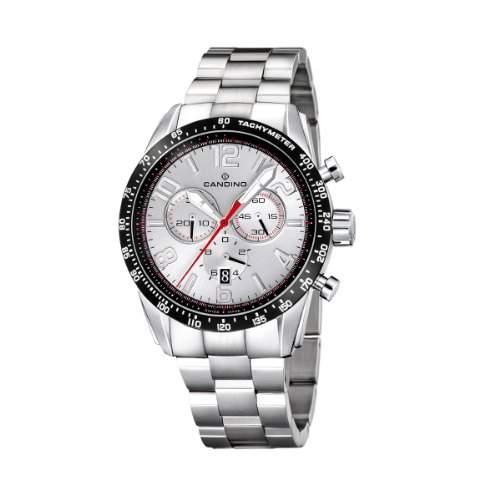 Candino Herren-Armbanduhr XL Sail Chronograph Edelstahl C4429-A