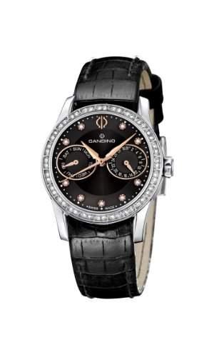 Candino Damen-Armbanduhr Analog Quarz Leder C44473