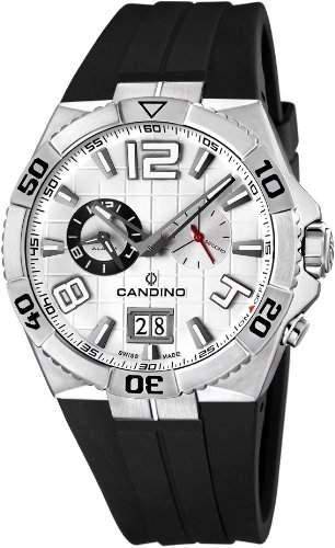 Candino Sport Sportliche Herrenuhr Swiss Made