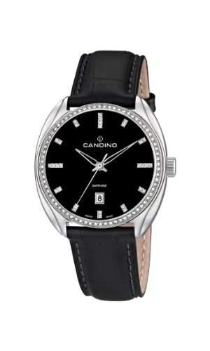 Candino Damen-Armbanduhr Analog Quarz Leder C44642