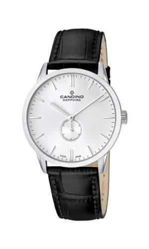 Candino Herren-Armbanduhr XL Analog Quarz Leder C44701