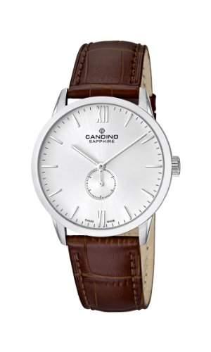Candino Herren-Armbanduhr XL Analog Quarz Leder C44702