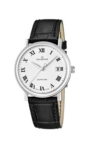 Candino Herren-Armbanduhr XL Analog Quarz Leder C44874