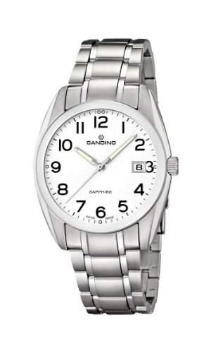 Candino Herren-Armbanduhr Analog Quarz Edelstahl C44931
