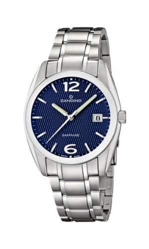 Candino Herren-Armbanduhr XL Analog Quarz Edelstahl C44933