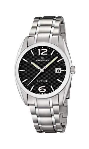 Candino Herren-Armbanduhr XL Analog Quarz Edelstahl C44934