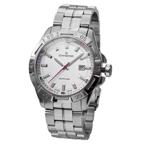 Candino Herren-Armbanduhr PlanetSolar Analog Quarz Edelstahl C44961