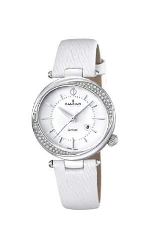 Candino Damen-Armbanduhr Analog Quarz Leder C45321