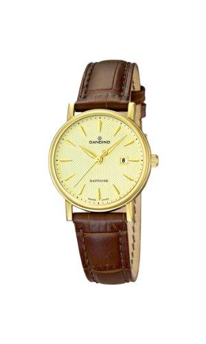 Candino Damen Armbanduhr XS Analog Quarz Leder C4490 3