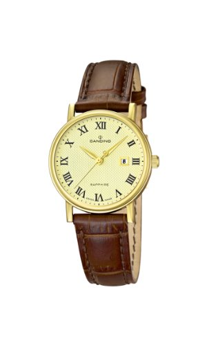 Candino Damen Armbanduhr XS Analog Quarz Leder C4490 4