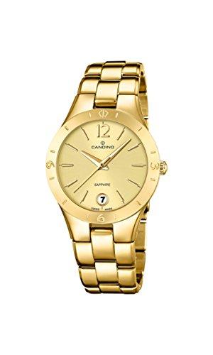 Candino Damen Armbanduhr Analog Quarz Gold C4577 2