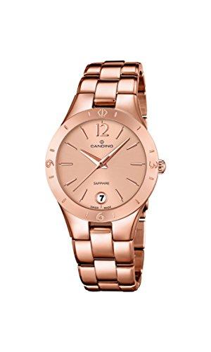 Candino Damen Armbanduhr Analog Quarz Gold C4578 1