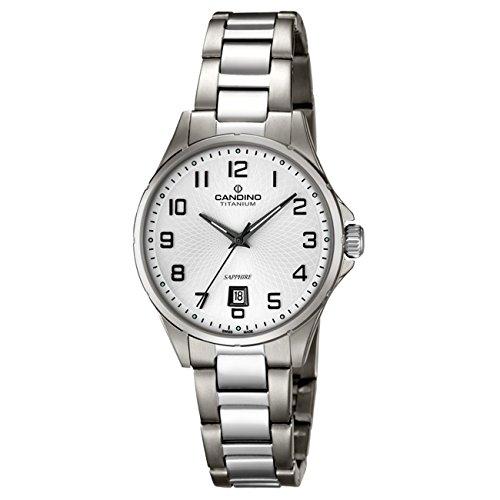 Candino Candino Elegance analog Elegant Titan Armband titan silbergrau Quarz Uhr UC4608 1