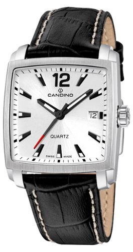 Candino Herren Armbanduhr Analog Quarz Leder C4372 1