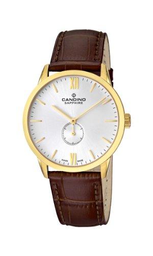 Candino Herren Armbanduhr Analog Quarz Leder C4471 2