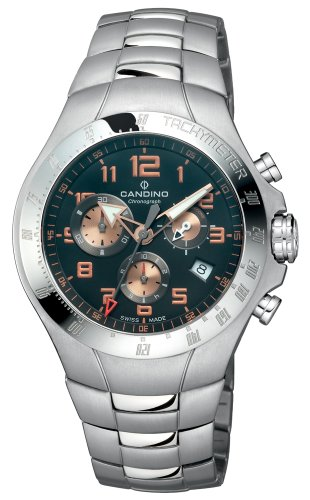 Candino Herren Armbanduhr Regatta Chrono C4430 4