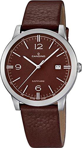 Candino Herren Armbanduhr Timeless analog Quarz Leder UC4511 3