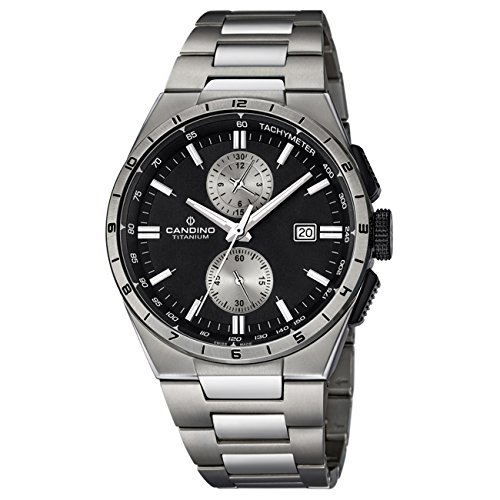 Candino Candino analog Sport Titan Armband titan silbergrau Quarz Uhr Elegance Kollektion UC4603 4