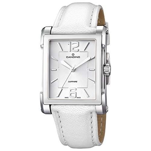 Candino Damen-Armbanduhr Flair analog Quarz Leder UC44363