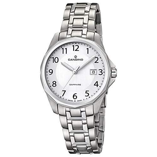 CANDINO Unisex-Uhr - Classic Timeless - Analog - Quarz - Edelstahl - UC44925