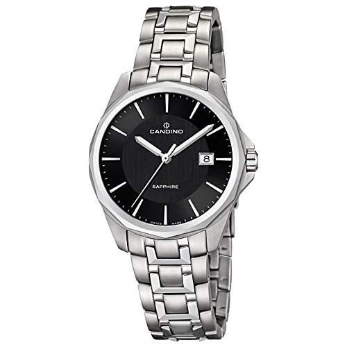 CANDINO Unisex-Uhr - Classic Timeless - Analog - Quarz - Edelstahl - UC44927