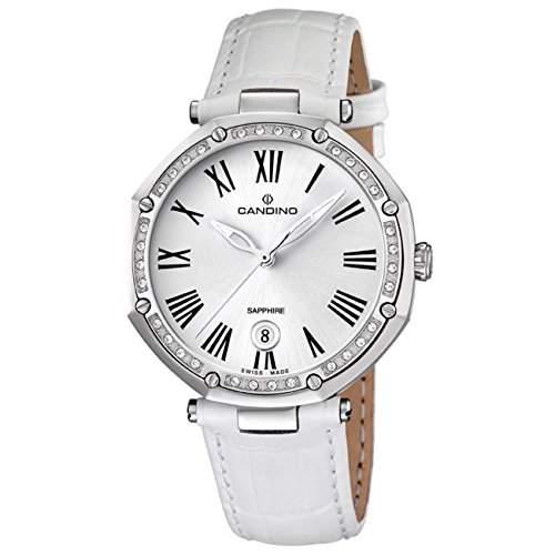 Candino Damen-Armbanduhr D-Light analog Quarz Leder UC45262