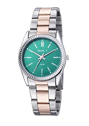 Uhr Select Damen Army bicolor rose tt 97 86