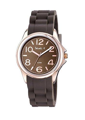 Uhr Select Damen Gold Pink tt 100 03